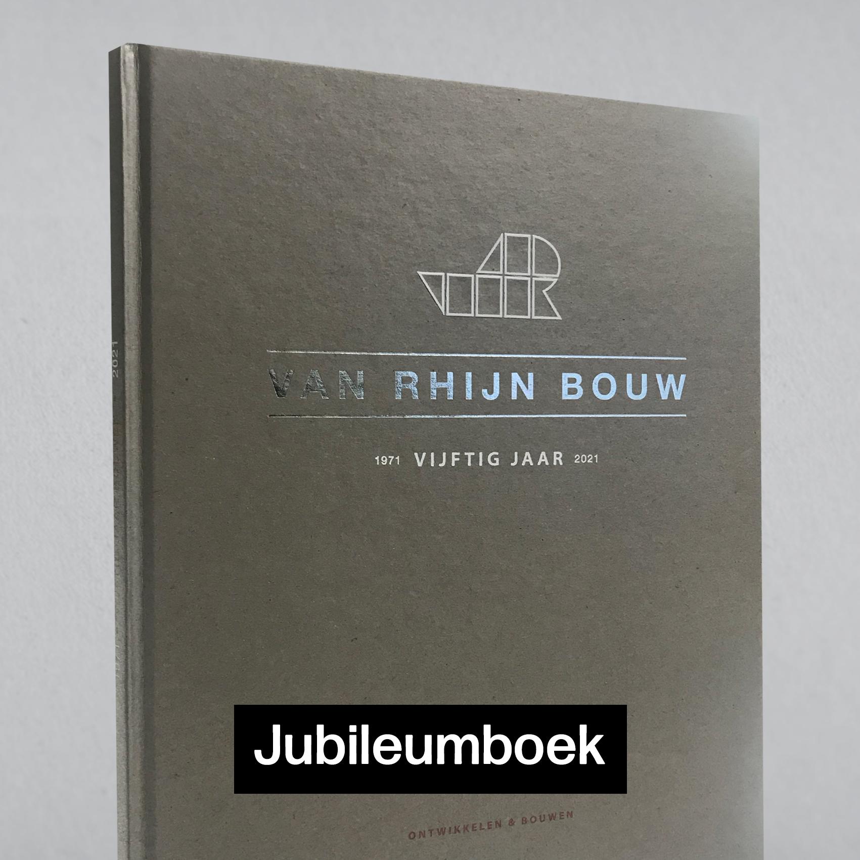 jubileumboek van rhijn bouw katwijk vrb dune pebbler